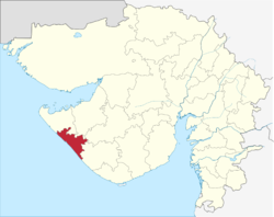 Gujarat Porbandar district.png