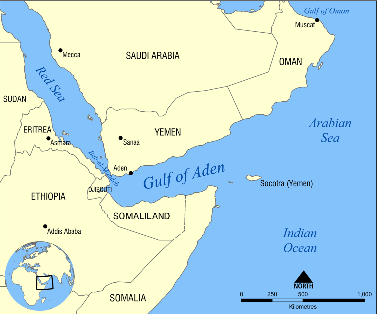 Gulf of Aden - Wikipedia