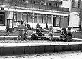 Gyerekek a homokozónál, 1981-ben, Ráday utca 46. Bölcsőde. Fortepan 17311.jpg