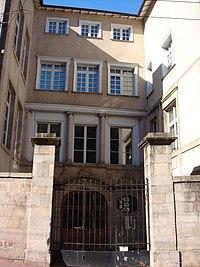 Hôtel Martin de La Bastide actuellement Faculté de Droit.JPG