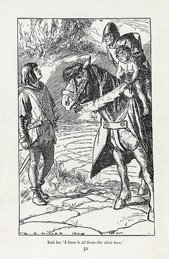 Puck of Pook's Hill - Image: H. R. Millar Rudyard Kipling Puck of Pook's Hill 4