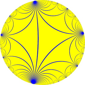 Infinite-order triangular tiling