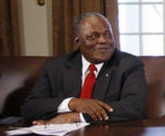 Hubert Ingraham - Prime Minister Hubert Ingraham at the White House