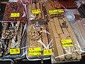 HK 上環 Sheung Wan 摩利臣街 Morrison Street 永樂街 Wing Lok Street public square 假日行人坊 Holiday bazaar Jan 2019 SSG 02 snack food.jpg