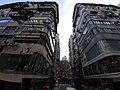 HK CWB 銅鑼灣 Causeway Bay 波斯富街 Percival Street old tang lau facade October 2019 SS2 07.jpg