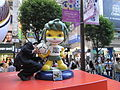 HK Causeway Bay Times Square evening South Africa World Cup 2010 Icon Zakumi.jpg