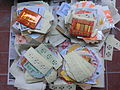 HK Chai Wan Cape Collinson Crematorium 冥鏹 Joss paper money offerings May-2013.JPG