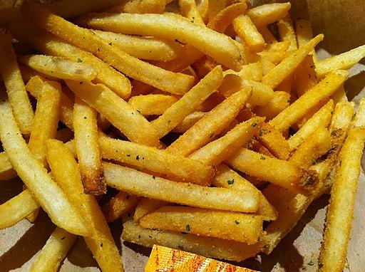 HK TST Star House McDonalds potato yellow food French fries Nov-2012