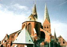 photo : église de Lübeck