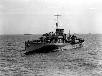 HMCS Baddeck (K147) - Image: HMCS Baddeck 2