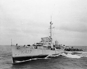 HMS Grindall 1944 IWM FL 5505