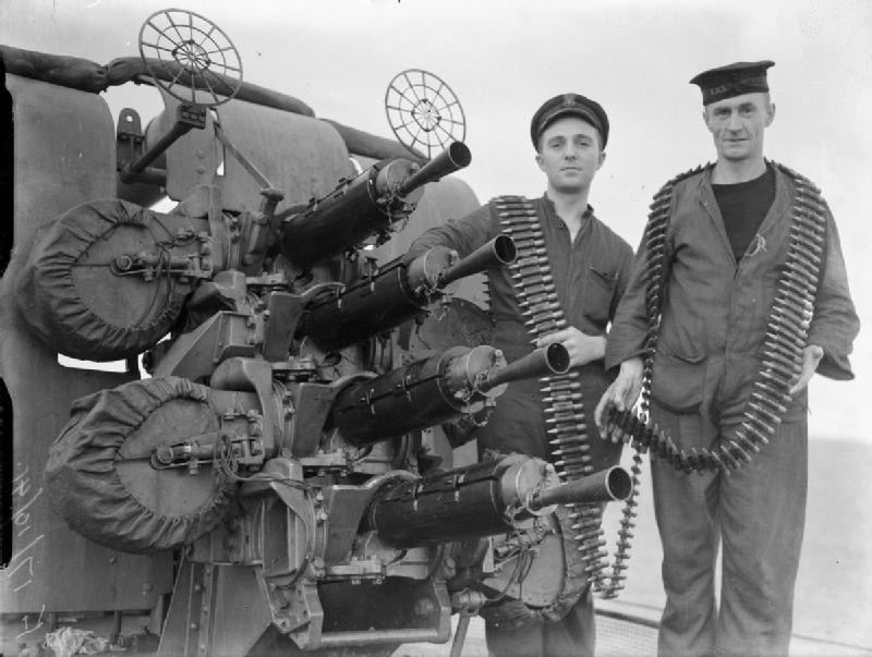 HMS London gun