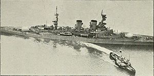 HMS Repulse (1916) - Repulse in August 1918