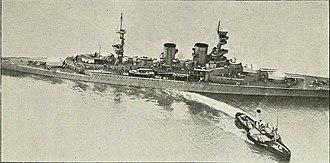 Renown-class battlecruiser - Repulse in August 1918