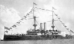 HMS Resolution 1892 dressed.jpg