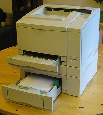 Printer (computing) - HP LaserJet 5 printer