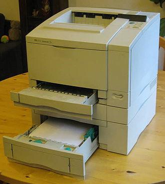 Printer (computing) - HP LaserJet 5 printer