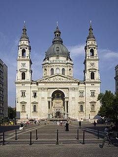 Church in Budapest-Lipótváros, Hungary