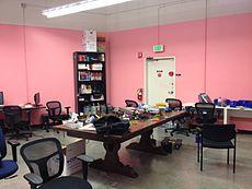 The main electronics lab