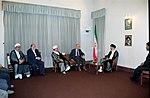 Hafez al-Assad visit to Iran, 1 August 1997 (15).jpg