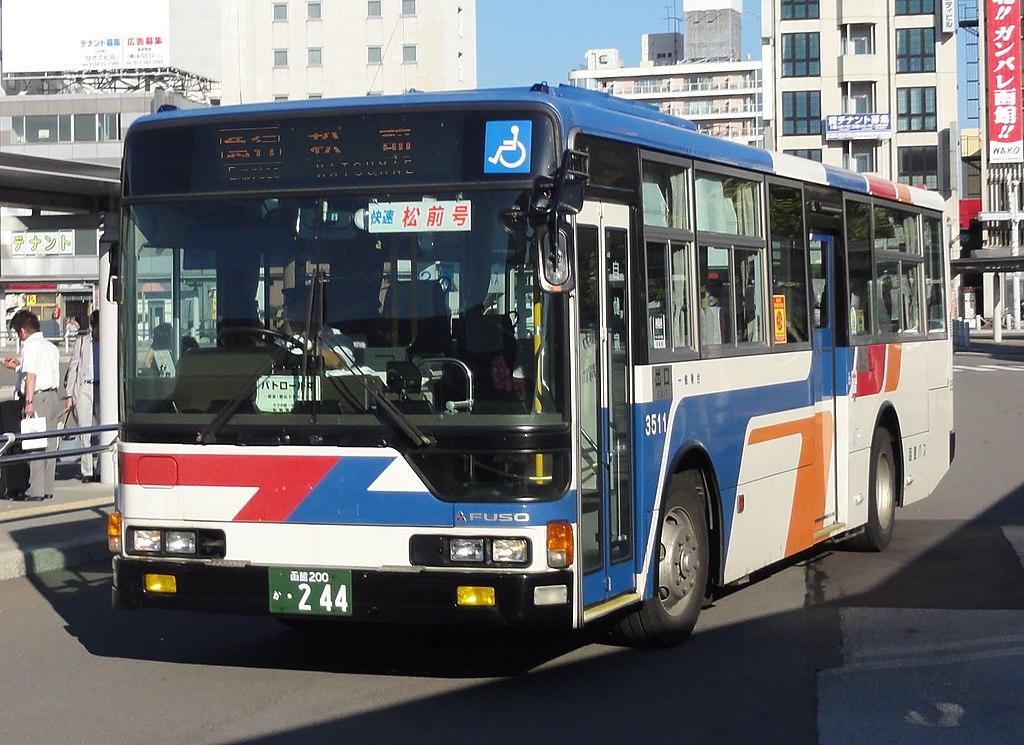 Hakodate Bus 0244