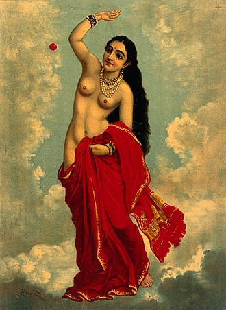 Tilottama - Tilottama by Raja Ravi Varma