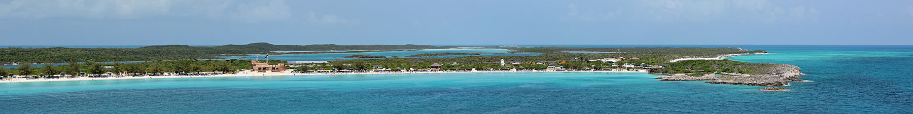 Half Moon Cay development