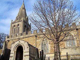 Hallaton - Hallaton parish church