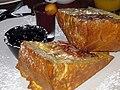 Ham and brie stuffed French toast (3055537571).jpg