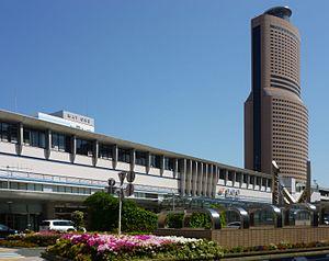 Hamamatsu Station - The south side of Hamamatsu Station in 2012