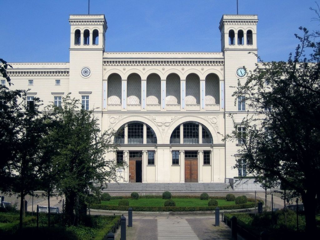 Hamburger bahnhof, le musée d'art contemporain à Berlin. Photo de Manfred Brückels.