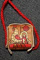 Handmade Pendant of Birch Bark with Handmade Drawn Rooster.jpg