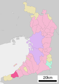 Hannan in Osaka Prefecture Ja.svg