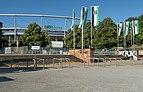 Hannover, de hoofdingang van de HDI-Arena IMG 4392 2018-07-01 08.34.jpg