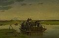 Hans Smidth - En færge over Gudenåen - KMS4175 - Statens Museum for Kunst.jpg