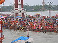 Har-ki-Pauri during Kavad Mela, Haridwar.jpg
