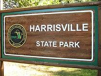 Harrisville state park sign back entrance.jpg