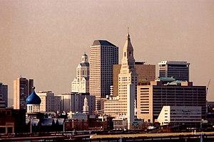 Economy of New England - Image: Hartord Bldgs Skyline