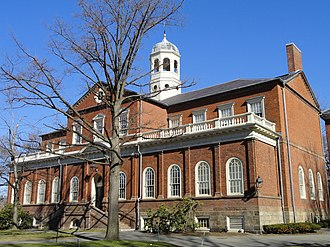 Thomas Dawes - Image: Harvard Hall (Harvard University) DSC00058