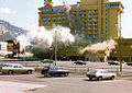 Bomb explosion at Harvey's Resort Hotel