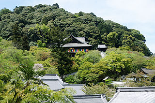 Hase-dera Buddhist temple in Nara Prefecture, Japan