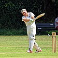 Hatfield Heath CC v. Takeley CC on Hatfield Heath village green, Essex, England 47.jpg