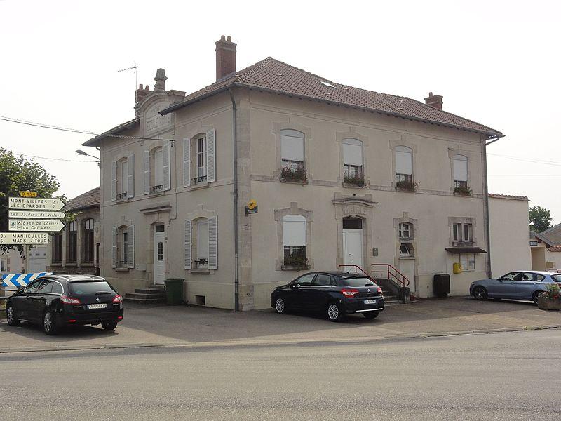 Haudiomont (Meuse) mairie-école