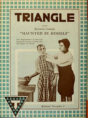 Triangle Film Corporation - Image: Haunted by Himself