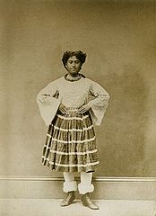 Hawaiian Dancing Girl, photograph by Henry L. Chase.jpg