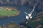 Head on with a Czech Saab Gripen.jpg