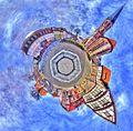 Heilbad Heiligenstadt Eichsfeld - Theodor Storm - little planet - 360° Panorama - panoramio.jpg