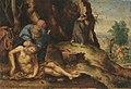 Heinrich Aldegrever (nach) - Der barmherzige Samariter pflegt den Verletzten - 710 - Bavarian State Painting Collections.jpg