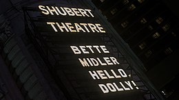 Hello Dolly - Shubert Theater Broadway - Thursday 5th October 2017 HelloDollyNYC051017-2 (26620892359).jpg