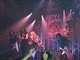 Helloween  durante un concierto en Núremberg, Alemania, en 2006.